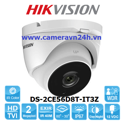 CAMERA-HDTVI-HIKVISION-DS-2CE56D8T-IT3Z-2M